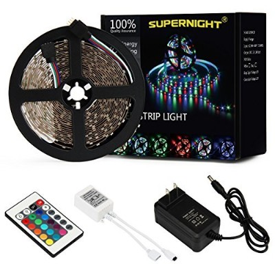 SUPERNIGHT 5M:16.4 Ft SMD 3528 RGB 300 LED Color