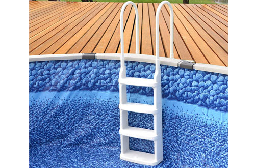 Main Access Easy-Incline Above Ground Pool Ladder