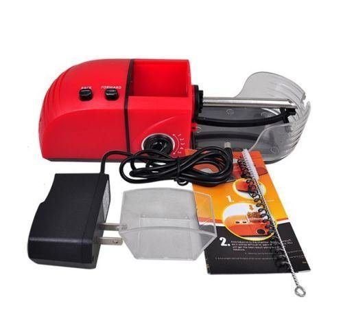 Electric 110V Cigarette Rolling Machine Tobacco Roller Automatic Injector Maker