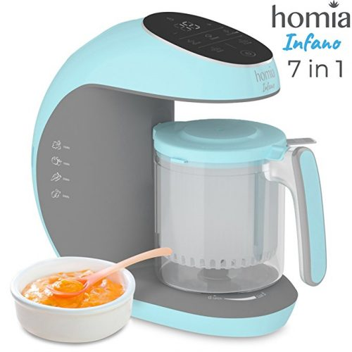 Baby Food Processor Chopper Grinder and Steamer