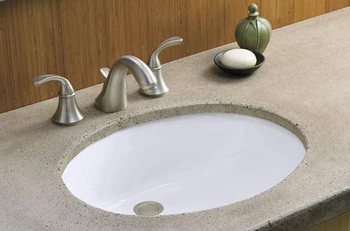 KOHLER K-2210-0 Caxton Undercounter Bathroom Sink