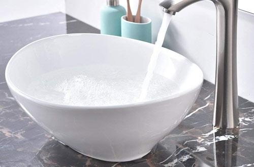 Porcelain Ceramic Bathroom Vessel Sink