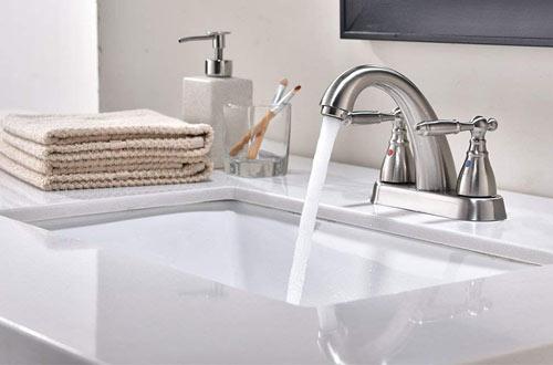 Modern Rectangular Undermount Vanity Sink