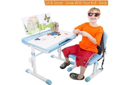 Einstein Kids Desk Set   Height Adjustable Children's Workstation
