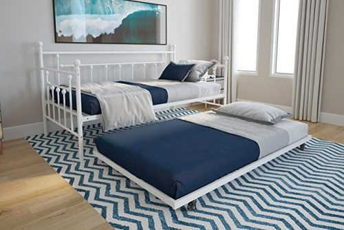 DHP Manila Metal Daybed and Trundle Beds for Kids