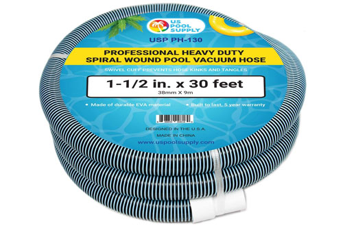 Professional Heavy Duty Spiral Wound Swimming Pool Vacuum Hose