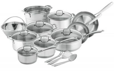 Top 10 Best Stainless Steel Pot Sets in 2019 Review