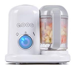 QOOC 4-in-1 Mini Baby Food Makers