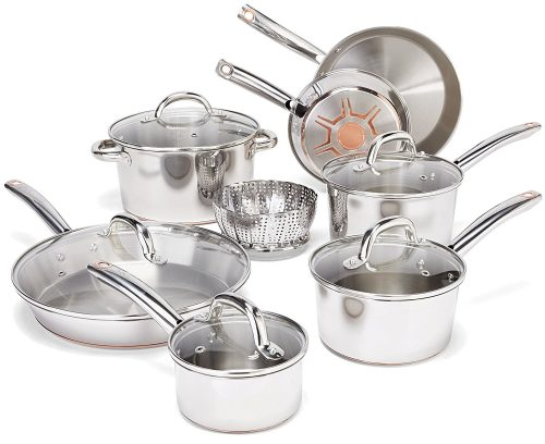 Ultimate Stainless Steel Copper-Bottom, Stainless Steel Pot Sets
